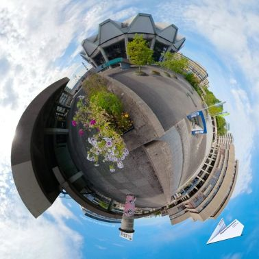 360 Grad Audimax Ruhruni Bochum Tiny Planet