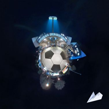 ruhrstadion bochum little planet