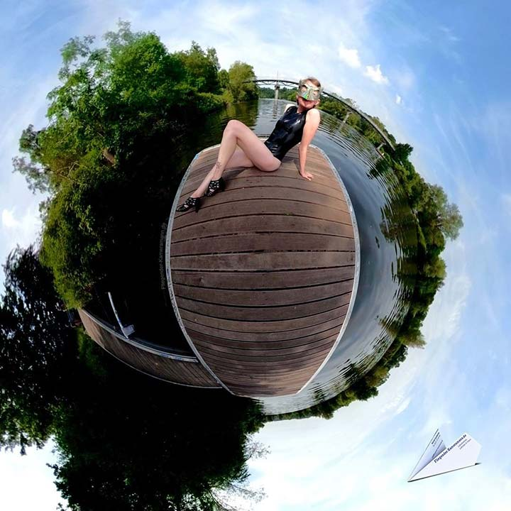 portrait latex ruhr bochum 360 grad little planet