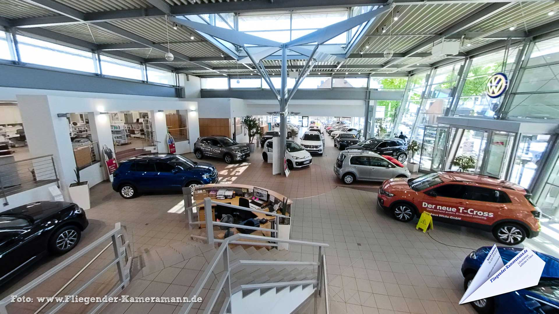 Autohaus Wicke in der Bochum - 360°-Panorama