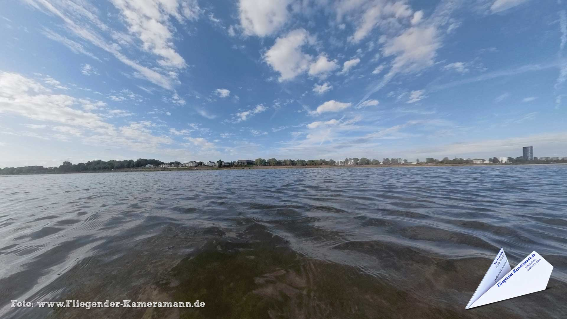 Am Rheinufer in Köln - 360°-Panorama